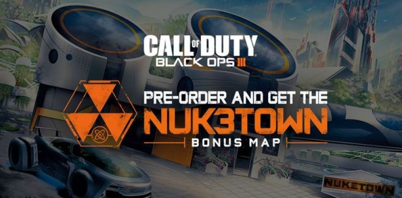 Call of Duty: Black Ops III – la carte Nuk3town gratuite