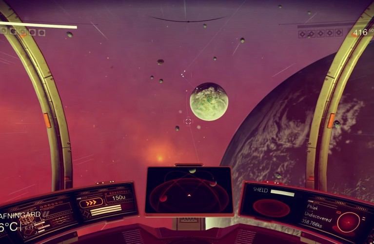 No Man's Sky : 10 minutes de gameplay sur PS4