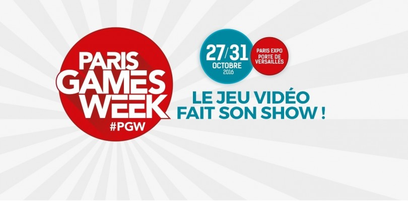 PGW 2016 : Vente des places de la Paris Games Week