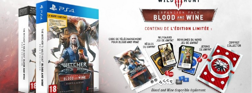 The Witcher III Blood And Wine : Une édition limitée de prévue