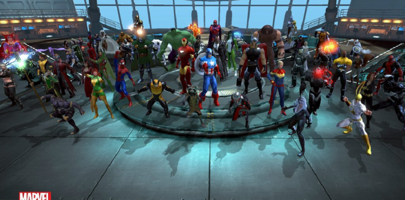 Marvel Heroes 2016 :  3 ans !