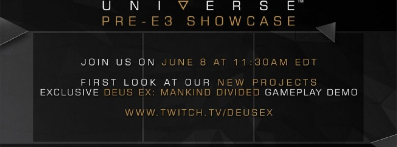 Mini News – Deus Ex: Mankind Divided un live le 8 juin