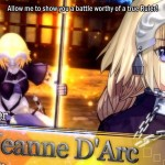 fate extella 20062016 image 2 Jeanne D'Arc