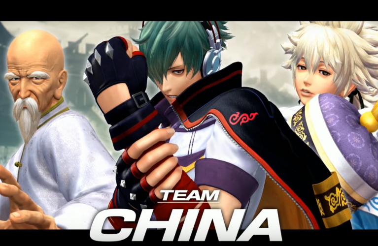 The king of fighters XIV : La Team China