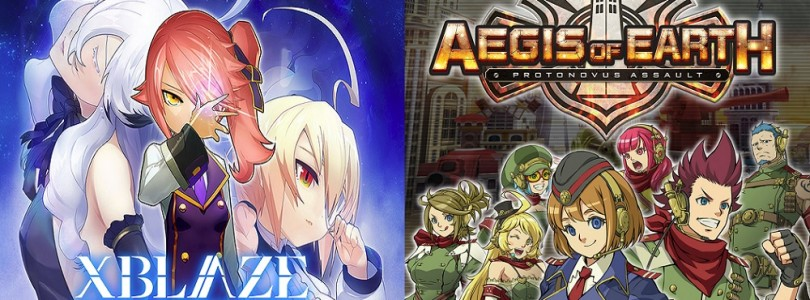 XBlaze Lost: Memories et Aegis of Earth: Protonovus Assault arrivent sur PC