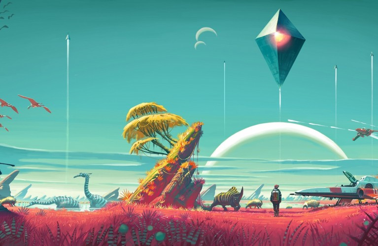 No Man's Sky : Trailer pour l'exploration
