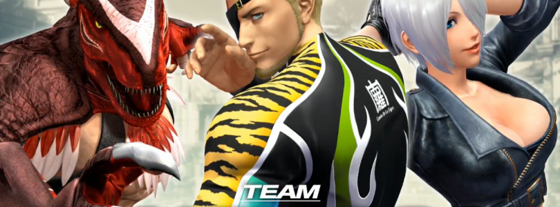 The king of fighters XIV: La Team Mexico