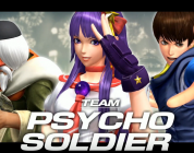 The king of fighters XIV : La Team Psycho Soldier