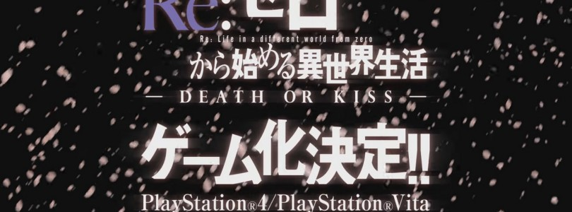 Re:Zero -Starting Life in Another World- Death or Kiss : se trouve une date de sortie
