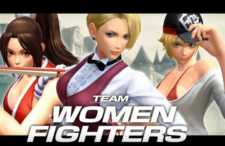 The king of fighters XIV : Team Women Fighters