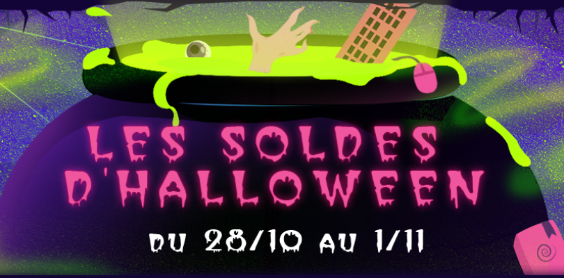 Steam : Bon plan et promotions pour Halloween