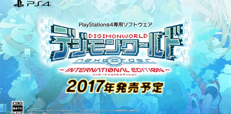 Digimon World Next Order : Bande annonce PS4