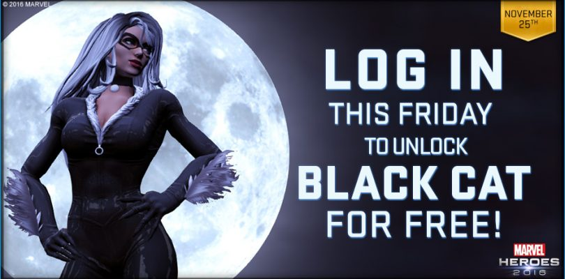 Marvel Heroes 2016 : Big 10 et Black Cat gratuit