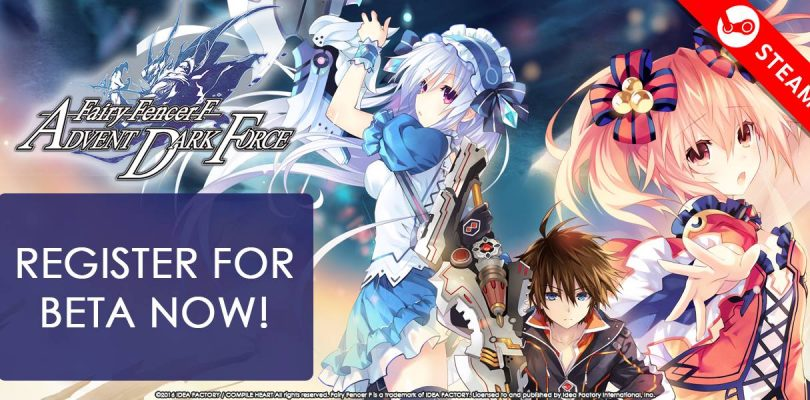 Fairy Fencer F: Advent Dark Force – Ouvre sa bêta test sur PC