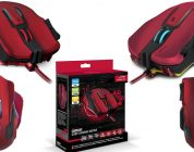 Test de la souris gaming OMNIVI Core Gaming Mouse, red-black