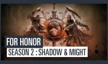 For Honor : Le début de la Saison 2 Shadow & Might approche