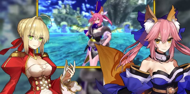 Fate/Extella: The Umbral Star – Vidéo de lancement