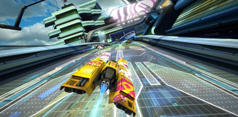 WipEout Omega Collection : Lancement vidéo sur Playstation 4