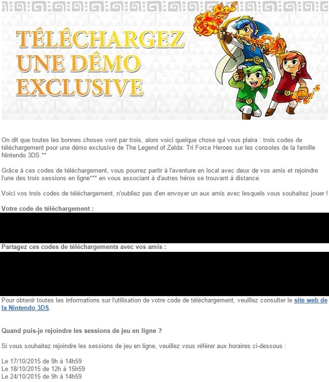 Démo Tri Force Heroes exemple code