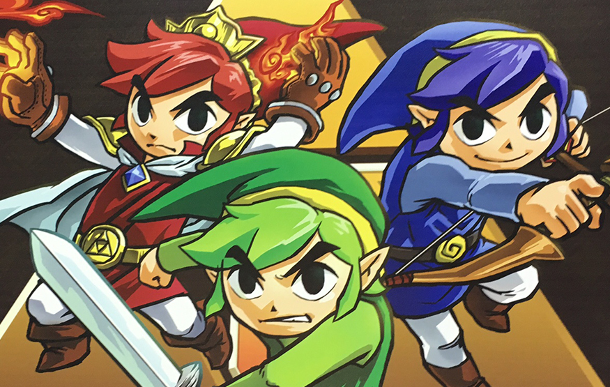 The Legend of Zelda Tri Force Heroes costume et lets play 2
