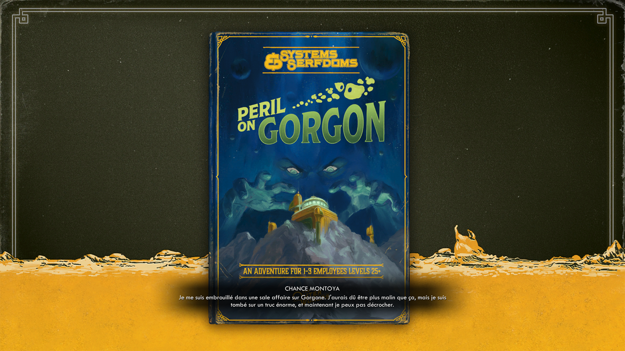 The Outer World : Peril on Gorgon