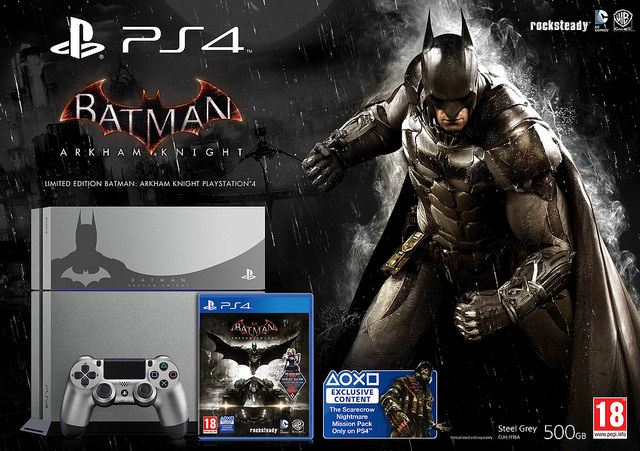 bundle Batman Arkham Knight PS4