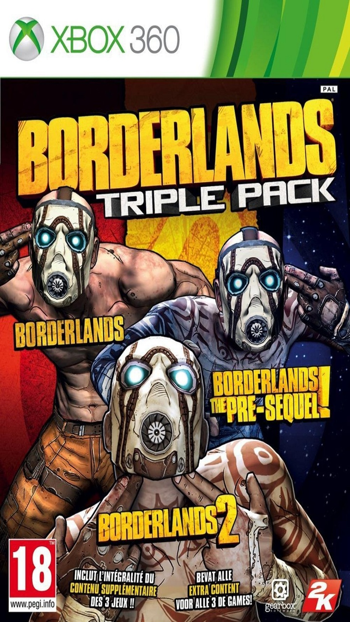 Borderlands Triple Pack 021215